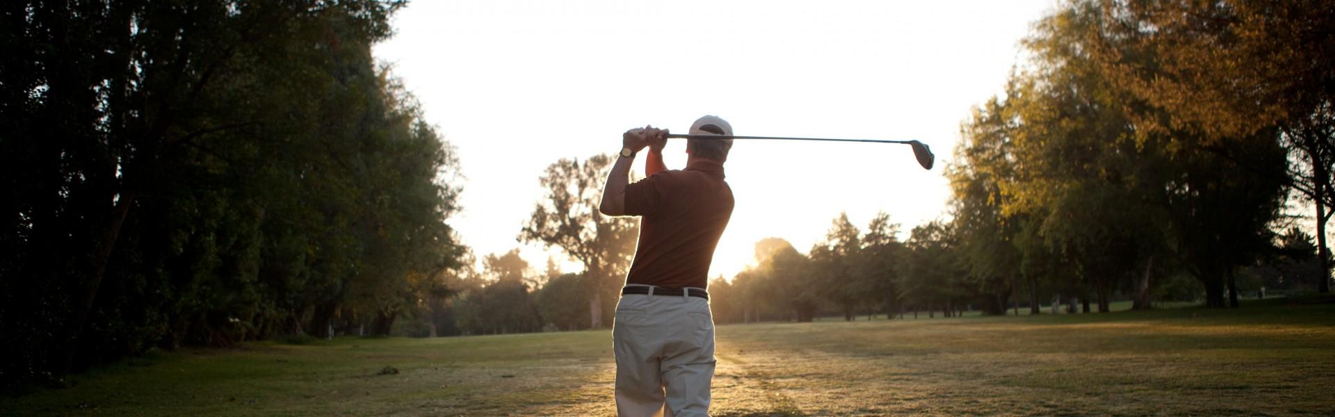 Golfing near Claremont CA