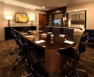 DoubleTree by Hilton Claremont CA business suite