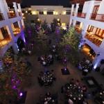 Hotel Casa 425 outdoor patio in Claremont CA