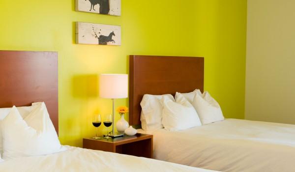 Hotel room at Casa 425 in Claremont CA