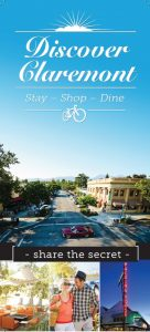 Discover Claremont 2016 brochure cover