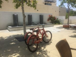 Bicycles at Hotel Casa 425 in Claremont CA