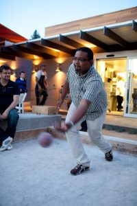 Bocce Ball at Union on Yale in Claremont CA