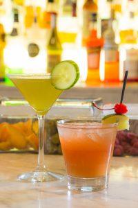 Cocktails at Hotel Casa 425 in Claremont CA