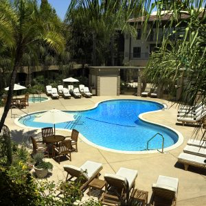 DoubleTree by Hilton Claremont CA Swimming Pool
