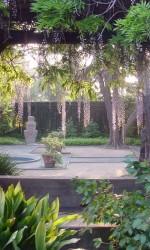 Margaret Fowler Garden at Scripps College in Claremont CA