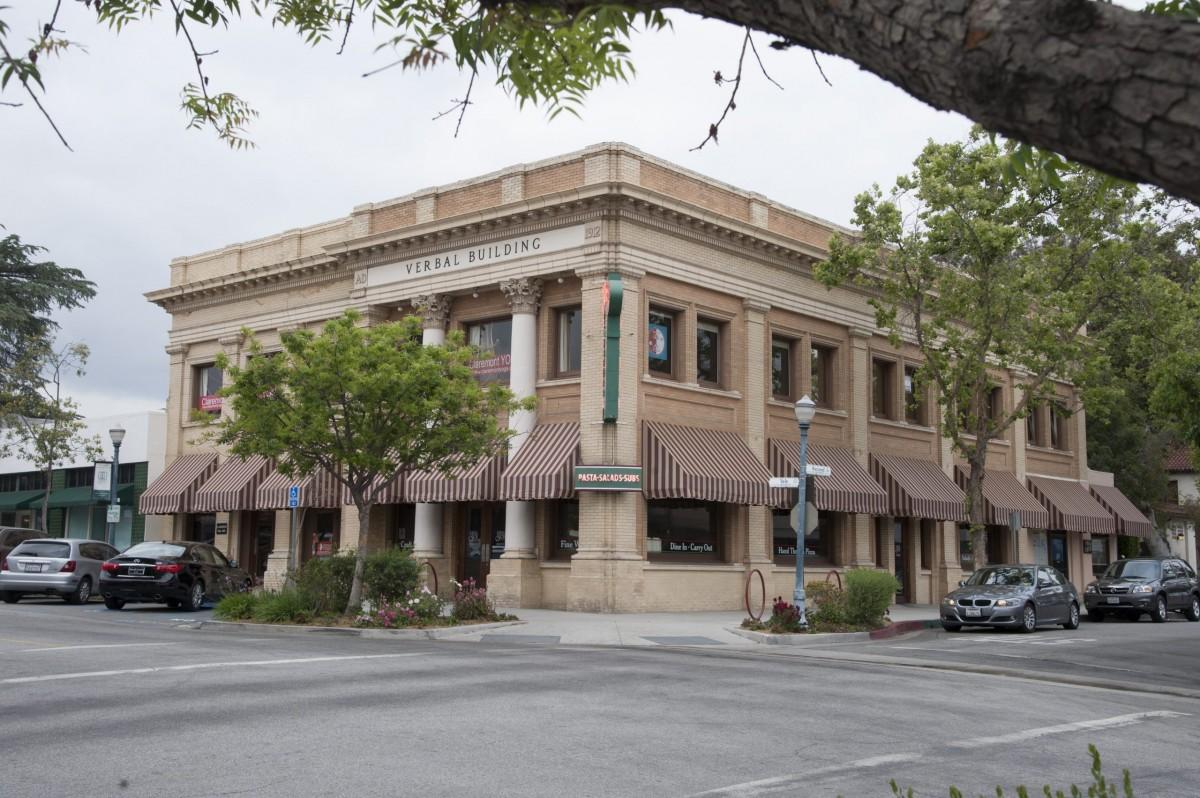 Claremont CA Village Verbal Building