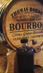 Bourbon cask from Citrus Grove in Claremont CA