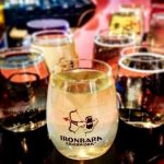 Ironworks cider glasses