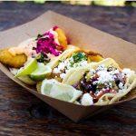 Petiscos tacos in Claremont, California